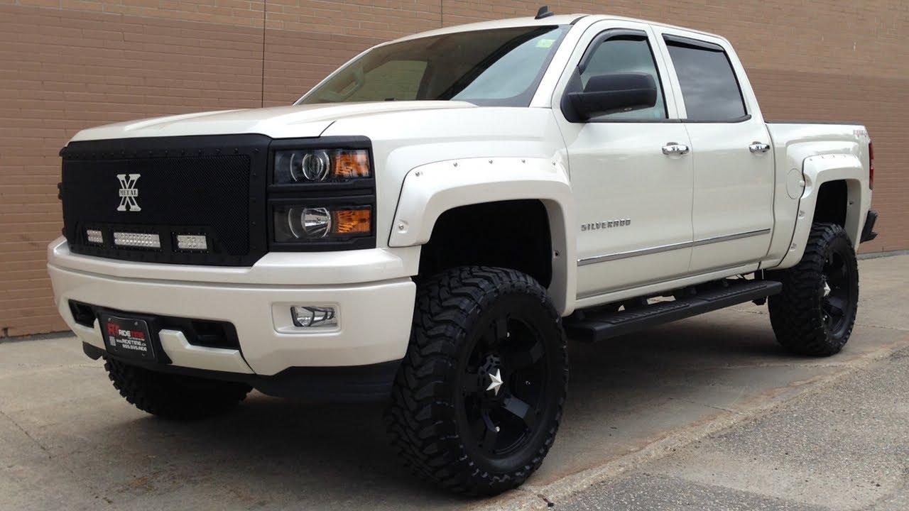 2014 Chevy Silverado Lifted >> Chevy Trucks 2014 Lifted White E Funnyphoto Co