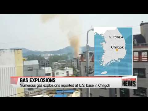 Gas explosion in American base - Asia