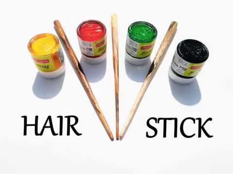 How to make wooden Hair Stick in few steps easy tutorial :)