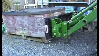 Hydraulic Cylinder Upgrade On John Deere