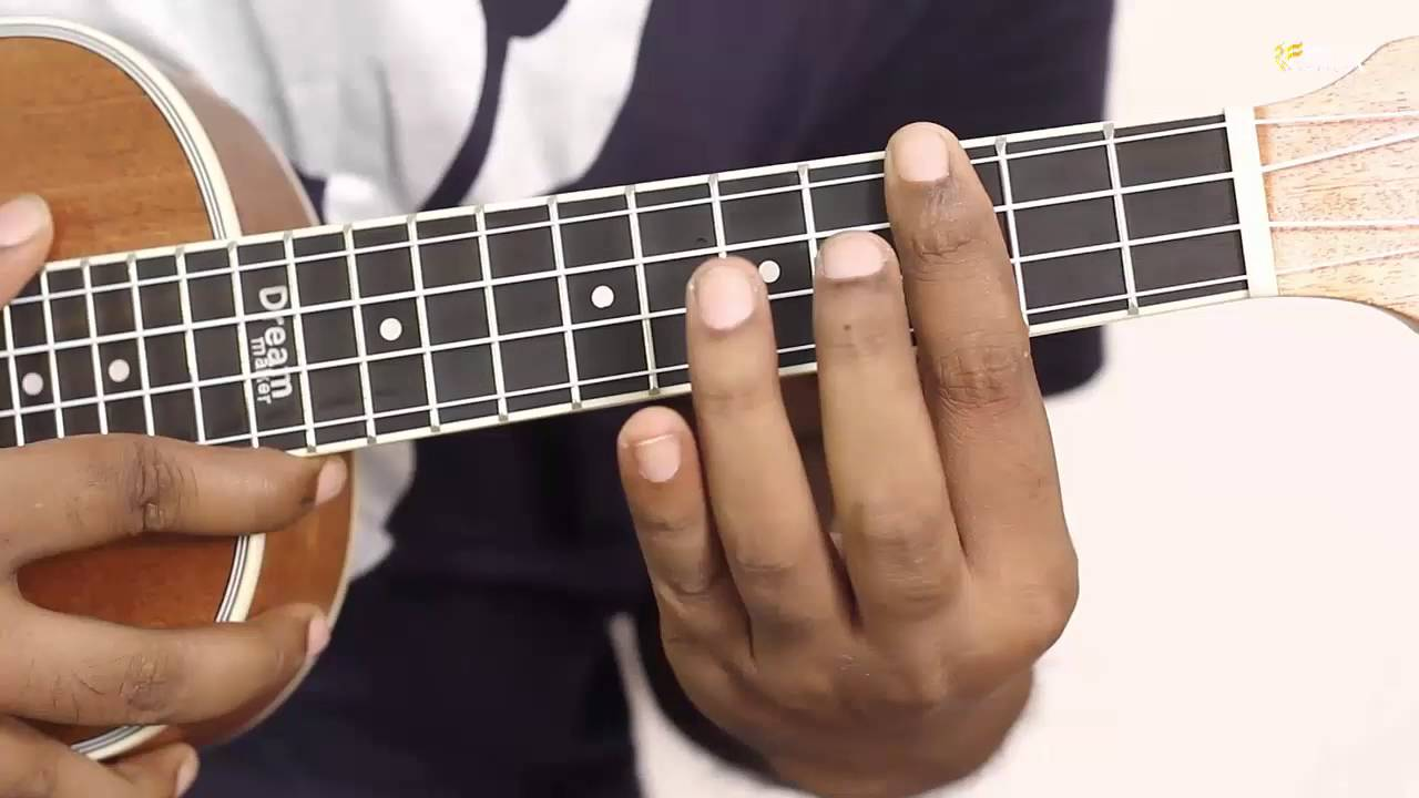 How To Play G Sharp Major Ukulele Easy Chord Ukulele Lessons