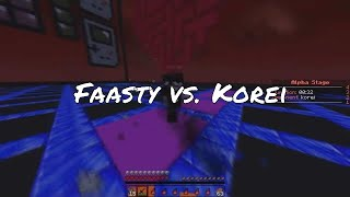 Faasty vs. Korei + MEU NOVO SERVER DE PRACTICE (Koven.cc) - WAR TIME -