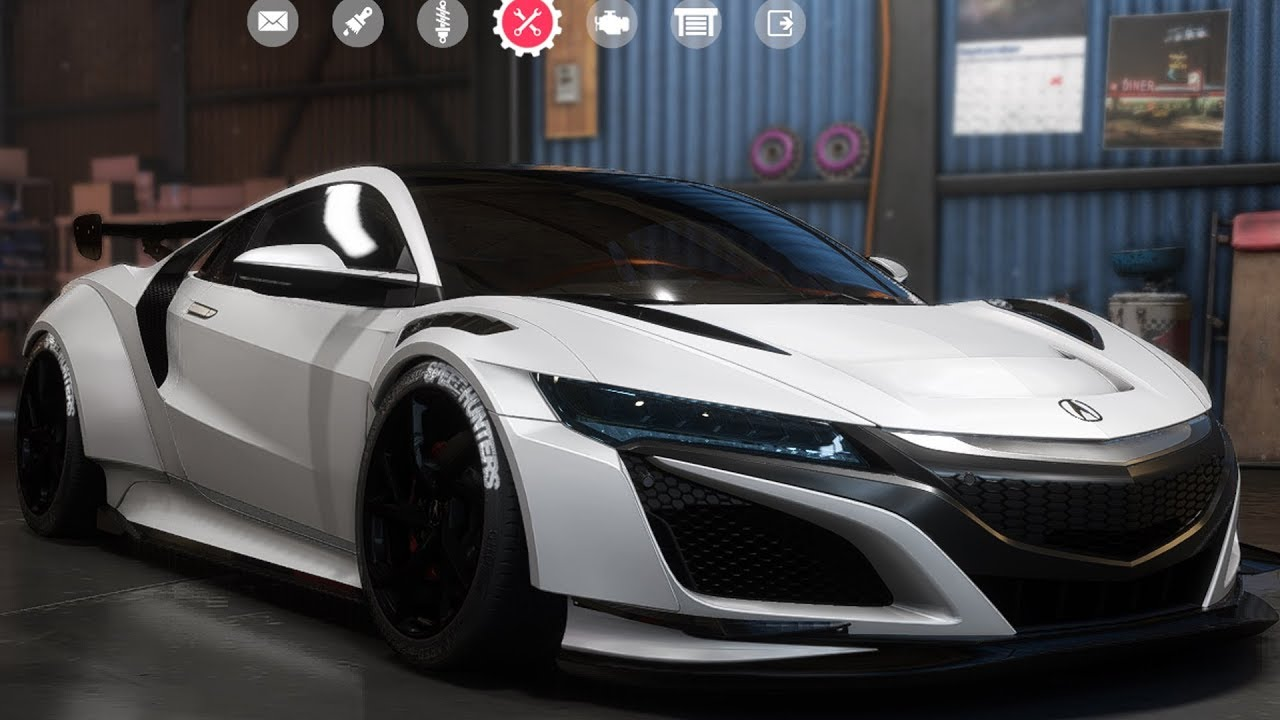 Need For Speed: Payback - Acura NSX - Customize | Tuning ...