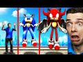 Michael Becomes DEMON SONIC In GTA 5 Rampage