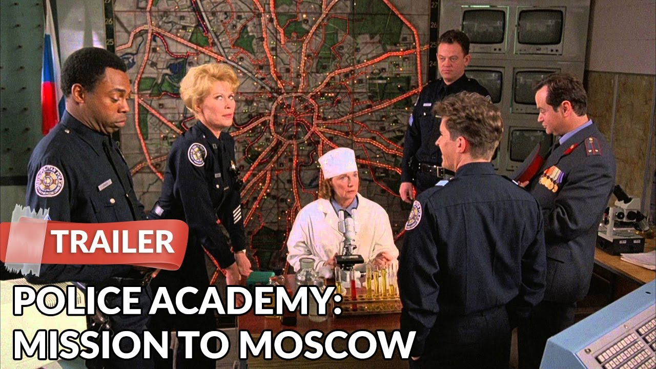 Police Academy Mission To Moscow 1994 Trailer Michael Winslow