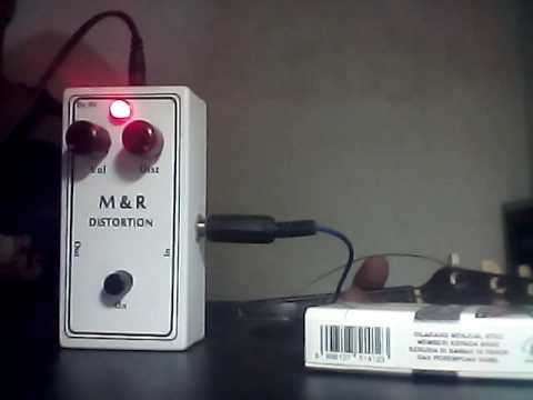 Efek gitar distorsi M&R by fujita ss1
