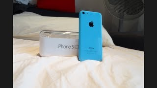 Unboxed : Apple iPhone 5c 32 GB (Blue) + First Boot-Up