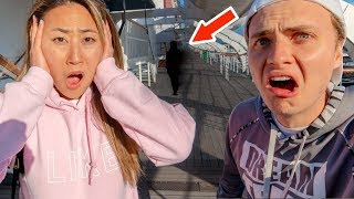 LAST TO LEAVE HAUNTED SHIP WINS $10,000!! (PART 2)