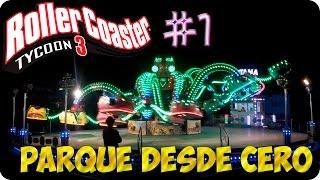 ROLLERCOASTER TYCOON 3 | PARQUE DESDE CERO | GAMEPLAY ESPAÑOL
