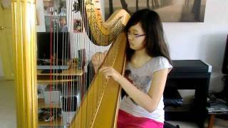 Variations on a theme of Mozart by Glinka - Harp Solo - Karen Tay