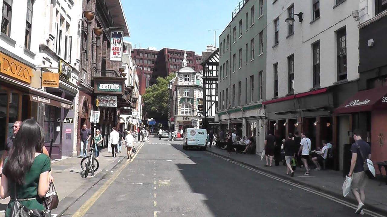 old compton street, London 06.07.2013 - YouTube