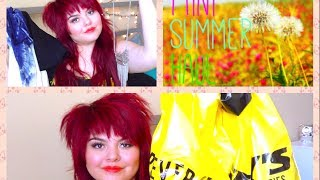 Mini Summer Haul Thumbnail