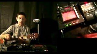 Как писать гитару на Kaoss pad 3 .Видео урок по  live looping.Урок №2.Блюз.