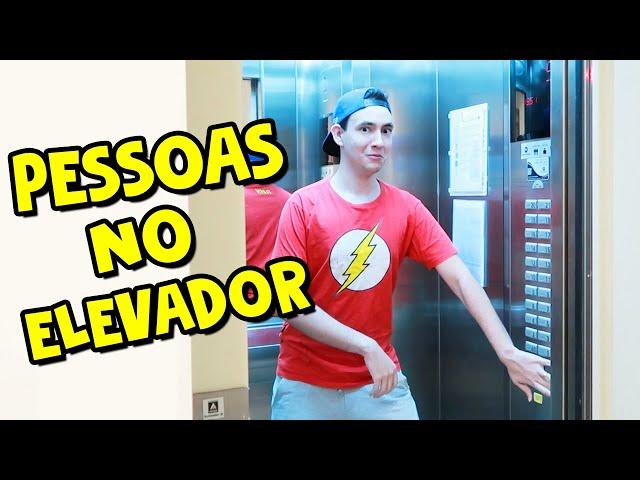 TIPOS DE PESSOAS NO ELEVADOR I Falaidearo
