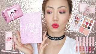 陪我玩Kylie Cosmetics The Birthday Collection + Lip Swatch | HIDDIE T