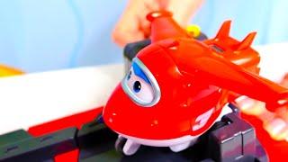 Videos para niños - Aviones infantiles - Coches para niños - Super Wings toys
