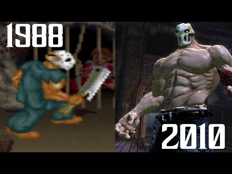 Evolution of Splatterhouse (1988-2010)
