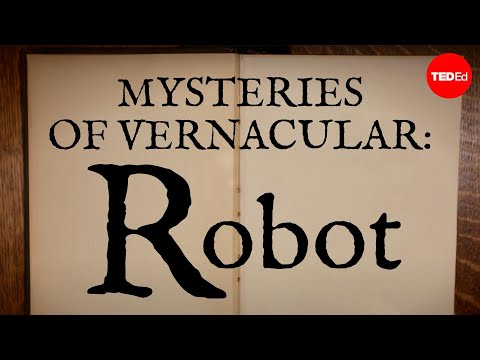 Video image: Mysteries of vernacular: Robot - Jessica Oreck and Rachael Teel