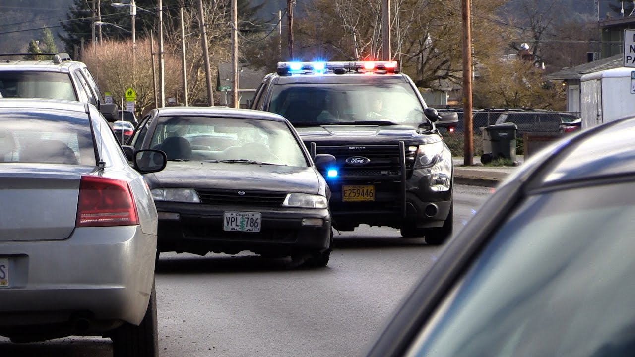 Raw Video: Multi Agency Car Chase Ends in Lebanon
