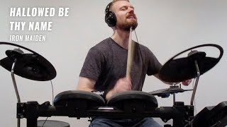 Iron Maiden - Hallowed Be Thy Name (Live) - Drum Cover