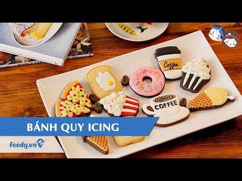 Hướng dẫn cách làm món bÁnh quy icing| feedy vn