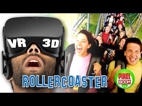 Best ROLLER COASTERS  VR Google Cardboard Video 3D SBS 1080p HD