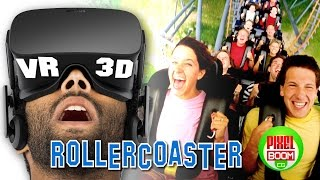 Best ROLLER COASTERS - VR Google Cardboard Video 3D SBS 1080p HD