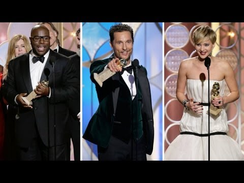 Golden Globes 2014 Awards - American Hustle and 12 Years a Slave Best Movies