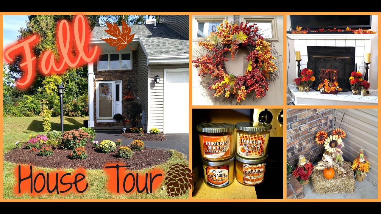 fall decor house tour youtube