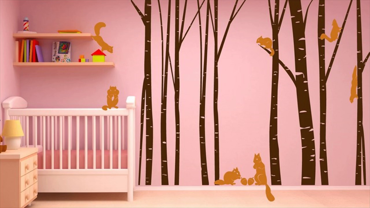 Giant Tree Wall Stickers For Kids Room