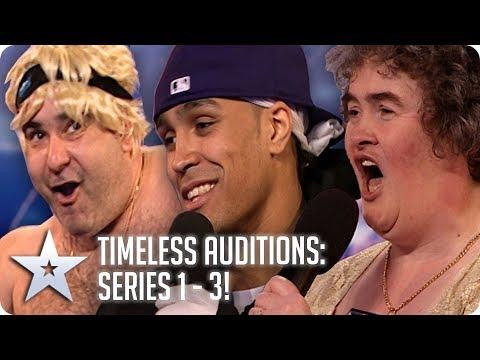 BGT's Timeless Auditions | Series 1 - 3 | Britain's Got Talent