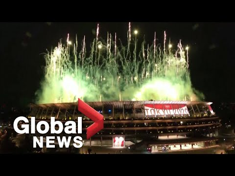 Tokyo Olympics: Spectacular drone show, fireworks start the Games off with a bang