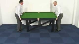 Www.madfun.co.uk - 5ft / 6ft Folding Snooker Table Bce Rs-5ag And Rs-6ag