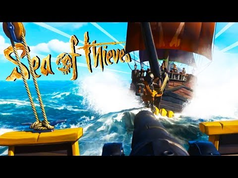 EPIC PIRATE BATTLES on the HIGH SEAS! - Sea of Thieves Gameplay - Sea of Thieves Closed Beta