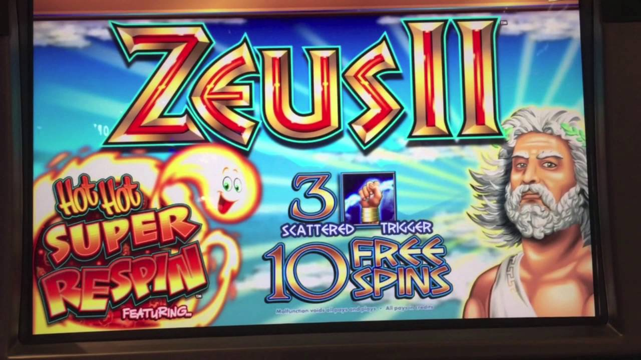 Zeus 2 slots spectacles casino barriere a toulouse