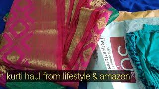 Kurti Haul from Lifestyle & Amazon