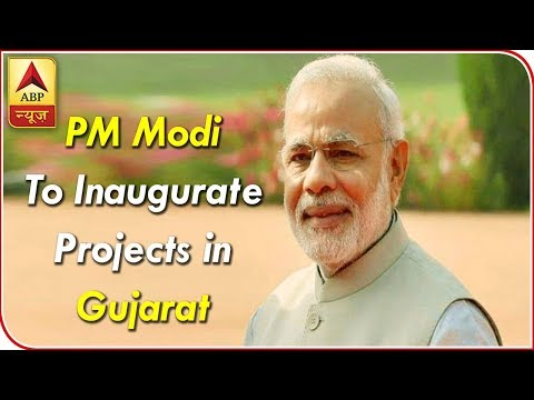 PM Modi Reaches Gujarat To Inaugurate Multiple Projects | ABP News
