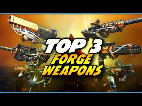 Top 3 BEST Forge Weapons: Destiny 2 Lost Prophecy Weapons | Curse of Osiris Expansion