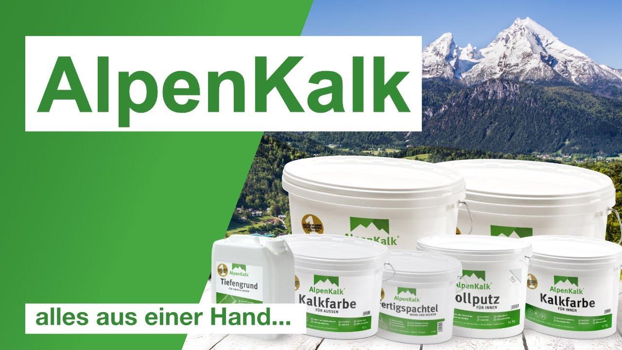 Alpenkalk Produktubersicht Youtube