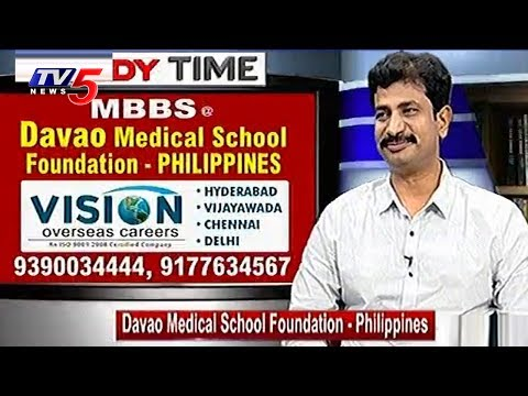 Davao Medical School Foundation - Philippines | Vision Overseas Careers | Study Time | TV5 News