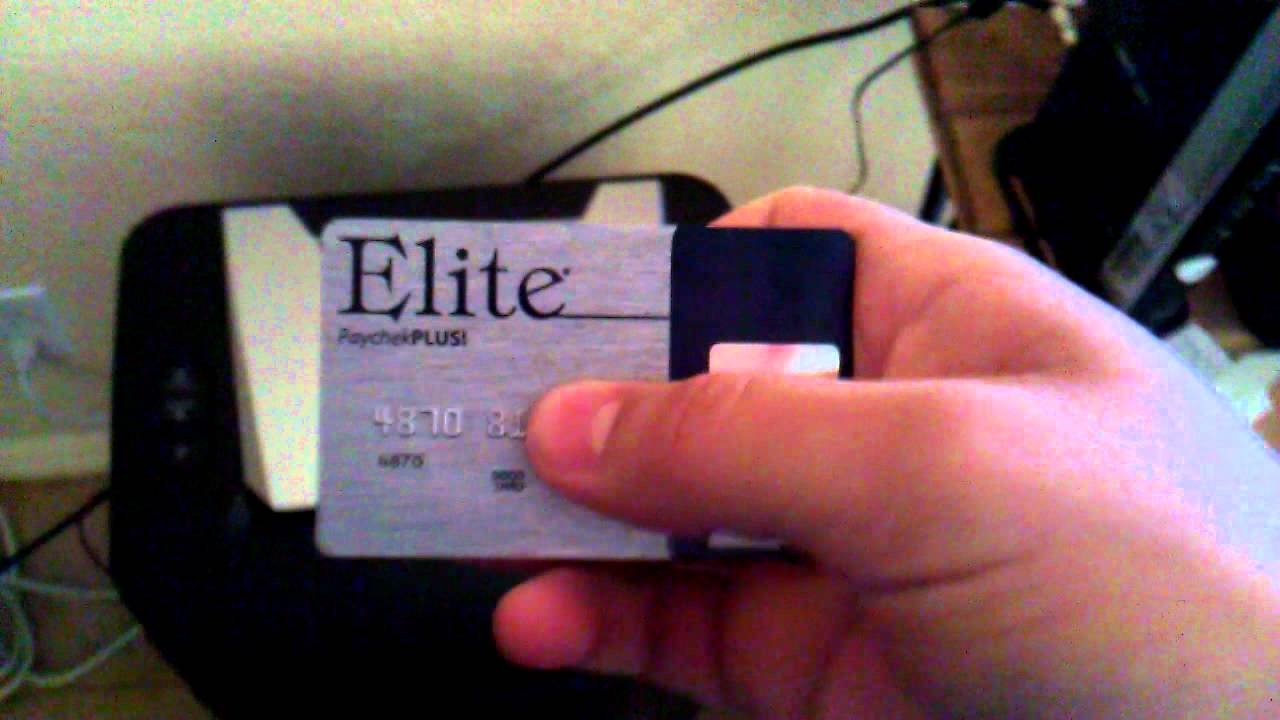 Visa elite pay card