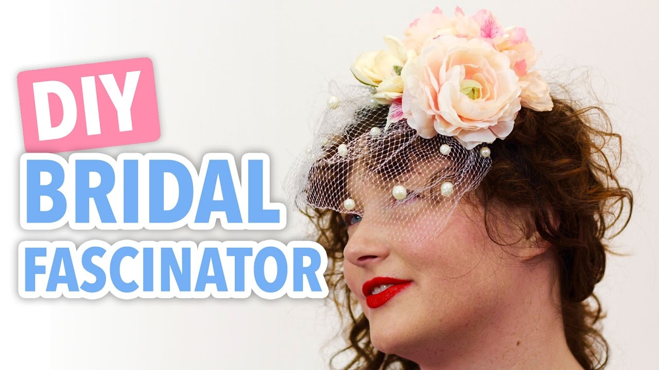 Diy bridal fascinator hgtv handmade youtube diy bridal fascinator hgtv handmade solutioingenieria Images