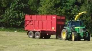 Silaging 2015 Finishing the field