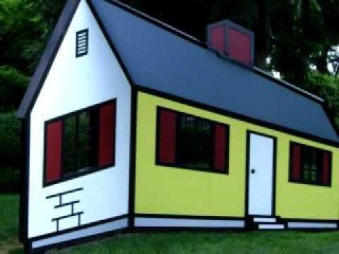 The Deceptive House of Roy Lichtenstein - YouTube