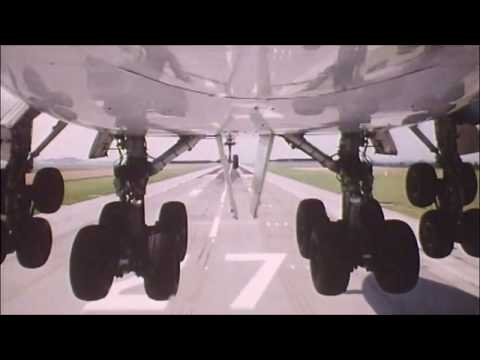 Landing Gear Camera | flight landing wheel | 747 landing gear retraction | Plane landing