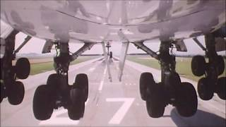Landing Gear Camera | flight landing wheel view | 747 landing gear retraction | airplanes wheels