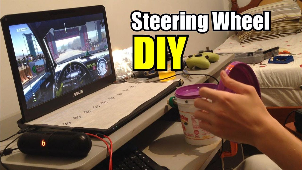 Diy Steering Wheel Youtube
