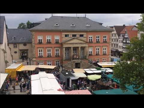 Erster Flashmob in Detmold 24.06.2017 - Ode an die Freude