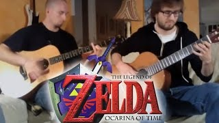 Zelda Ocarina of Time - Gerudo Valley - Super Guitar Bros