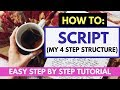 How To Script: Scripting Law of Attraction to Increase Manifesting Power (4 Step Scripting Tutorial)